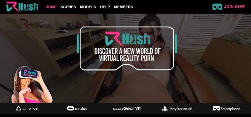 vr-hush-home-page