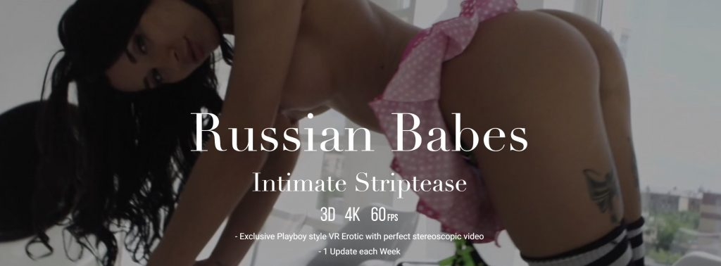 StasyQVR - Russian Babes intimate striptease banner